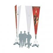 Bandiera Bifacciale h 450